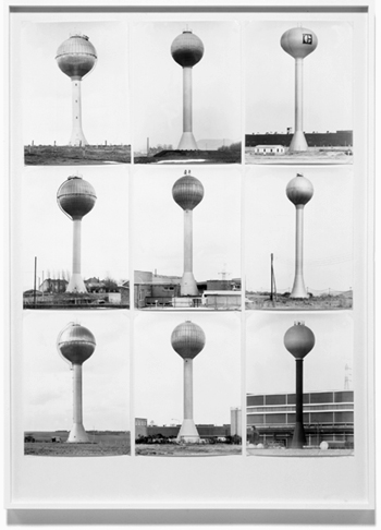 18 Water Towers Bernd and Hilla Becher. Water Towers